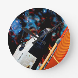 Relógio Redondo Vaivém espacial