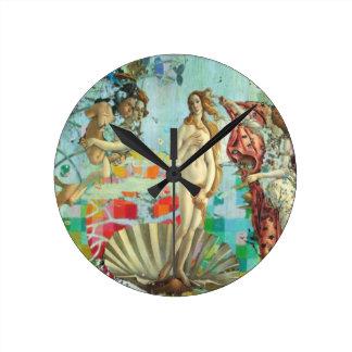 Relógio Redondo Venus Remix o design moderno do pulso de disparo