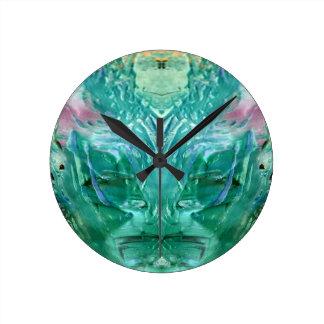 Relógio Redondo verde