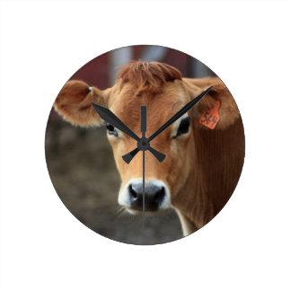 Relógio Redondo Você não me pensa é vaca bonito do jérsei