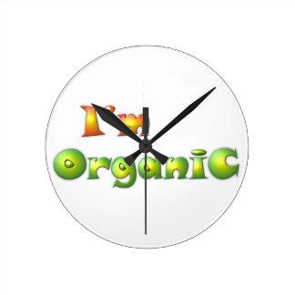 Relógio Redondo Volenissa - eu sou orgânico