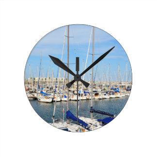 Relógio Redondo Yachting