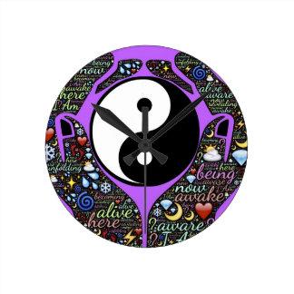 Relógio Redondo Yin, Yang