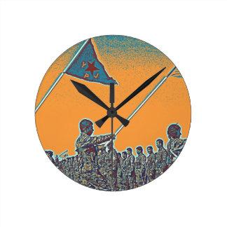 Relógio Redondo YPG curdos - YPJ Figters do cargo do Curdistão de