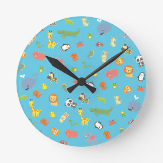 Relógio Redondo ZooBloo