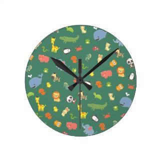 Relógio Redondo ZooZuu