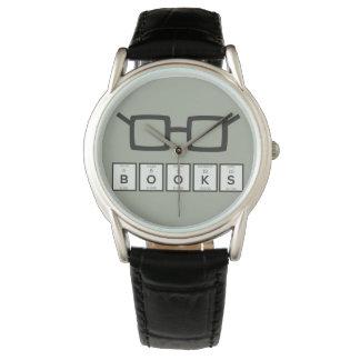 Relógio Registra os vidros Zh6zg do nerd do elemento