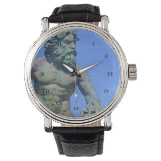 Relógio Rei Netuno por Shirley Taylor