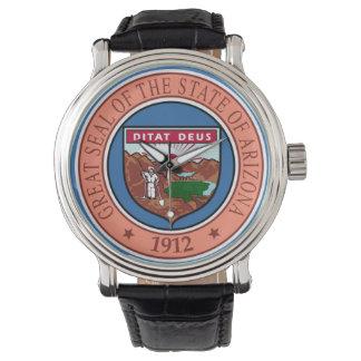 Relógio Representante do símbolo da bandeira de Estados