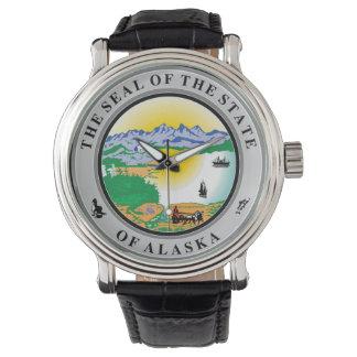 Relógio Repu do símbolo da bandeira de Estados Unidos