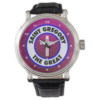 Relógio Santo Gregory o excelente