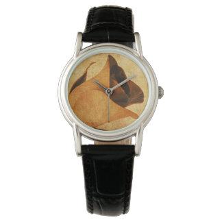 Relógio secado do rosa