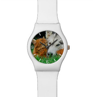 Relógio Seletor-placa bonito somaliana dos amigos do rouco