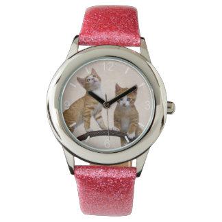 Relógio Seletor-placa engraçada da foto do Gym dos