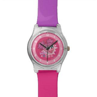 Relógio Sesame Street   Abby Cadabby - faísca & brilho