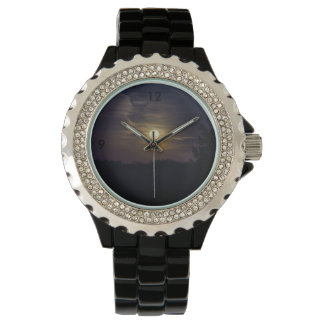Relógio Silhueta da lua