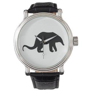 Relógio Silhueta do Anteater