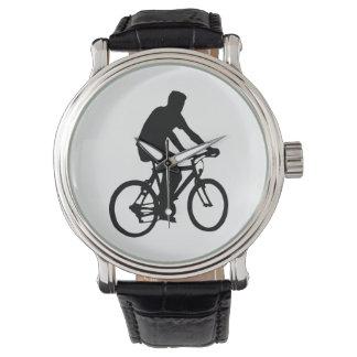 Relógio Silhueta do Bicyclist