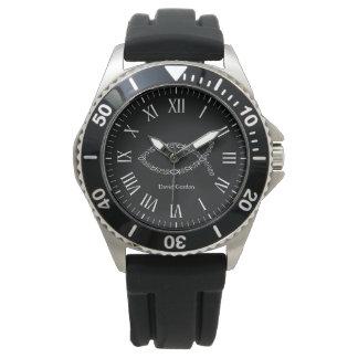 Relógio Símbolo cristão dos peixes de Ichthus |