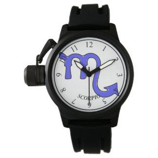 Relógio Símbolo da Escorpião