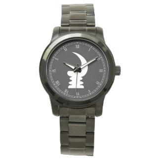 Relógio Símbolo do chifre | da guerra de AKOBEN | da