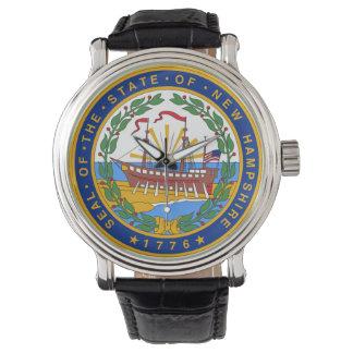 Relógio Símbolo f da república de América do selo do