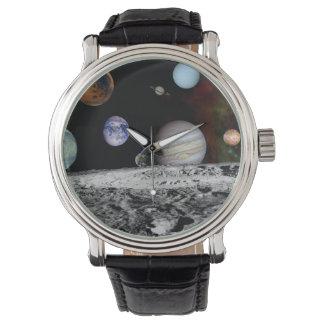Relógio Sistema solar novo