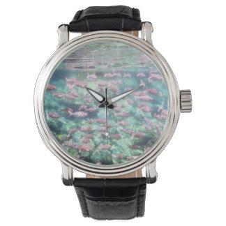 Relógio subaquático do vintage de Sealife
