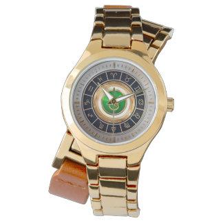 Relógio Taurus - o símbolo do horóscopo de Bull