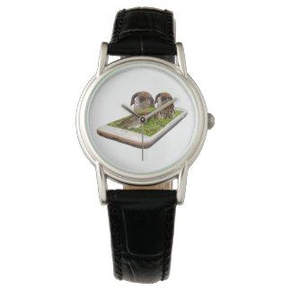 Relógio Tecnologia orelhuda Swavy da família do coelho de