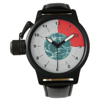 Relógio Teste padrão da água da piscina