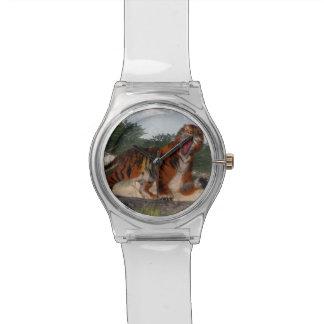 Relógio Tigre que ruje - 3D rendem
