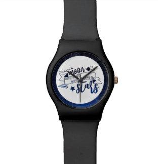 Relógio Tiro para a lua