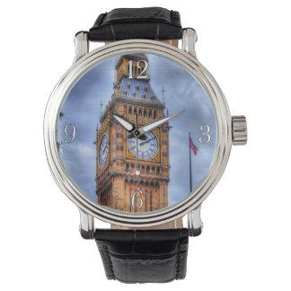 Relógio Torre histórica Big Ben de Elizabeth de Londres,