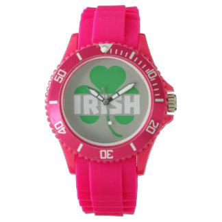 Relógio Trevo irlandês Z2n9r do cloverleaf