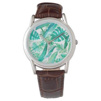 Relógio tropical do safari pelo design de