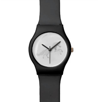 Relógio Unicórnio do branco da ilustração