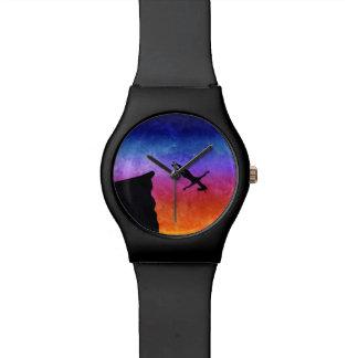 Relógio Unicórnio do mergulho do penhasco