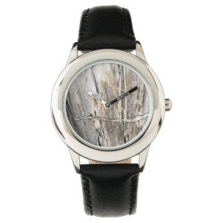Relógio unisex branco & cinzento moderno