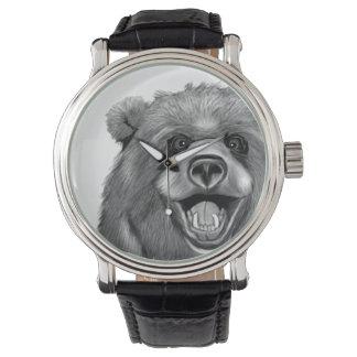 Relógio Urso feliz
