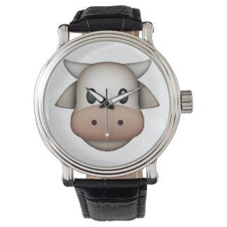 Relógio Vaca - Emoji
