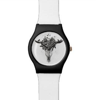 Relógio Verão inoperante (preto e branco)