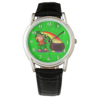 Relógio Verde-claro