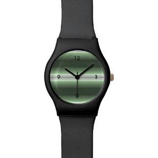Relógio Verde da floresta