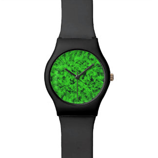 Relógio Verde impetuoso