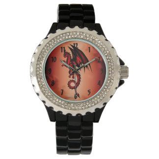 Relógio Vermelho do dragão