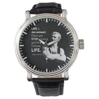 Relógio Vida - Bodybuilding de Eugen Sandow inspirador