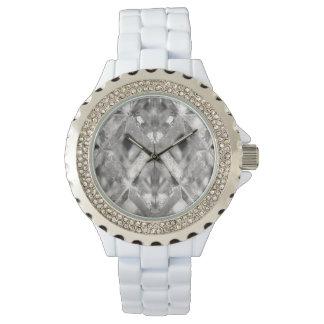 Relógio Vidro de prata