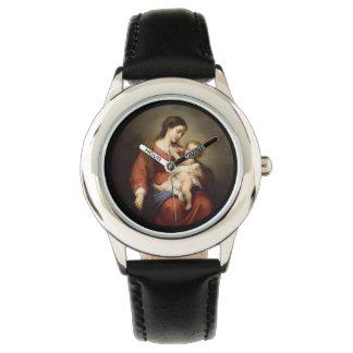 Relógio Virgin e criança
