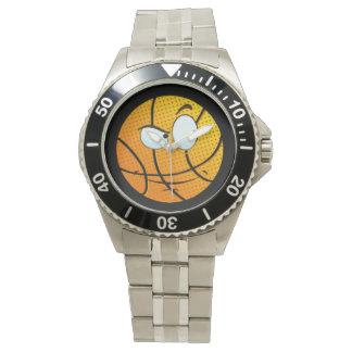 Relógio viril de Baller Emoji do homem